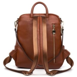 12. A backpack that comes with an extra strap so it can also be worn on the shoulder.1