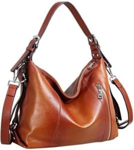 14. A slouchy shoulder bag that won't lose its shine.