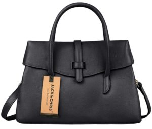 15. A structured satchel for anyone who digs that minimalist chic aesthetic.