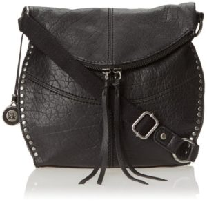 19. A crossbody with silver hardware to add some edginess to an ensemble.