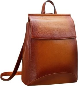 22. A minimalist backpack that conveniently transforms into a shoulder bag with the pull of a handle.