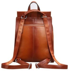 22. A minimalist backpack that conveniently transforms into a shoulder bag with the pull of a handle.1