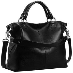 24. A slouchy carryall that can be worn three ways (tote, shoulder, and crossbody), depending on the situation.