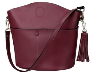 29. A fancy crossbody you can dress up or down. It comes with two straps of different lengths and a removable pouch inside.