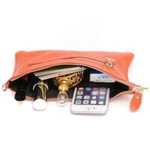 30. A wristlet that comes with a crossbody chain so you can be hands-free and happy.1