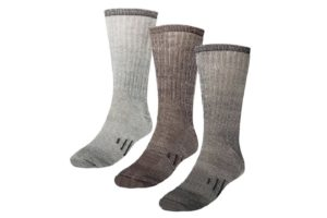 Thermal 80% Merino Wool Socks (Three Pairs)